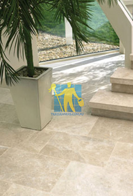 limestone tiles honed santa anna Molonglo Valley cleaning
